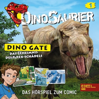 Folge 1: Das Geheimnis des T-Rex-Schädels (Das Hörspiel zum Comic)