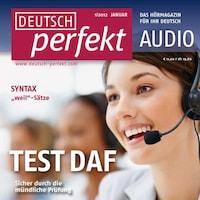 Deutsch lernen Audio - TestDaF, Mündlicher Ausdruck