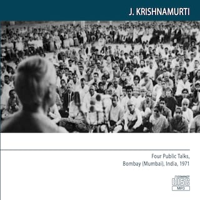 Four Public Talks, Bombay (Mumbai) India 1971.