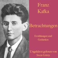 Franz Kafka: Betrachtungen. Erzählungen und Gedanken.