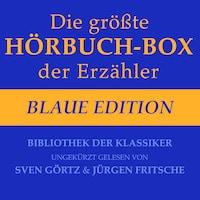 Die größte Hörbuch-Box der Erzähler: Blaue Edition