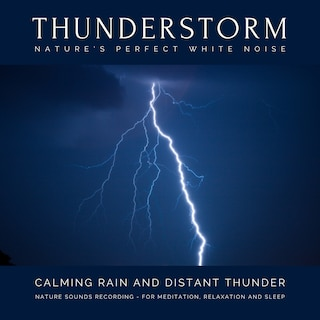 Calming Rain and Distant Thunder - Thunderstorm Nature Sounds Recording - for Meditation, Relaxation and Sleep - Nature's Perfect White Noise