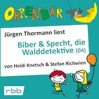 Ohrenbär - eine OHRENBÄR Geschichte, 4, Folge 35: Biber & Specht, die Walddetektive, Teil 4 (Hörbuch mit Musik)