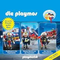 Die Playmos - Das Original Playmobil Hörspiel, Die große Feuerwehr-Box, Folgen 42, 57, 62
