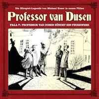 Professor van Dusen, Die neuen Fälle, Fall 7: Professor van Dusen zündet ein Feuerwerk