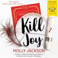 Kill Joy – World Book Day 2021