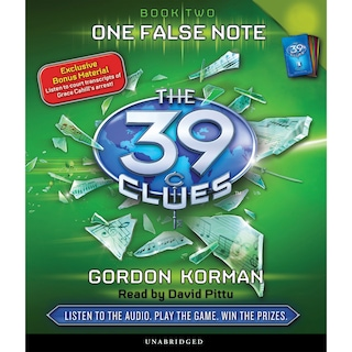 One False Note - The 39 Clues, Book 2 (Unabridged)