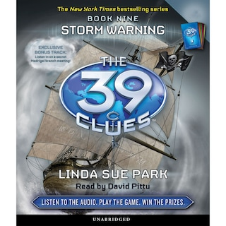 Storm Warning - The 39 Clues, Book 9 (Unabridged)