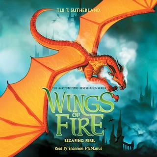 Escaping Peril - Wings of Fire 8 (Unabridged)