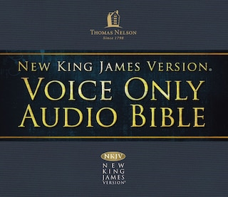 Voice Only Audio Bible - New King James Version, NKJV (Narrated by Bob Souer): (12) 1 Chronicles