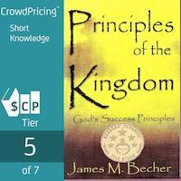 Principles Of The Kingdom; God's Success Principles