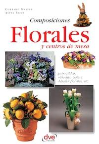Composiciones florales y centros de mesa. Guirnaldas, macetas, cestas, detalles florales, etc