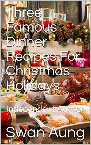 Three Famous Dinner Recipes For Christmas Holidays