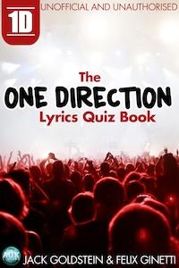 1D - The One Direction Lyrics Quiz Book