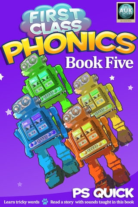 First Class Phonics - Book 5