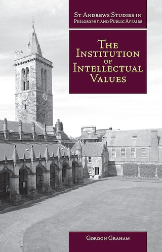 The Institution of Intellectual Values