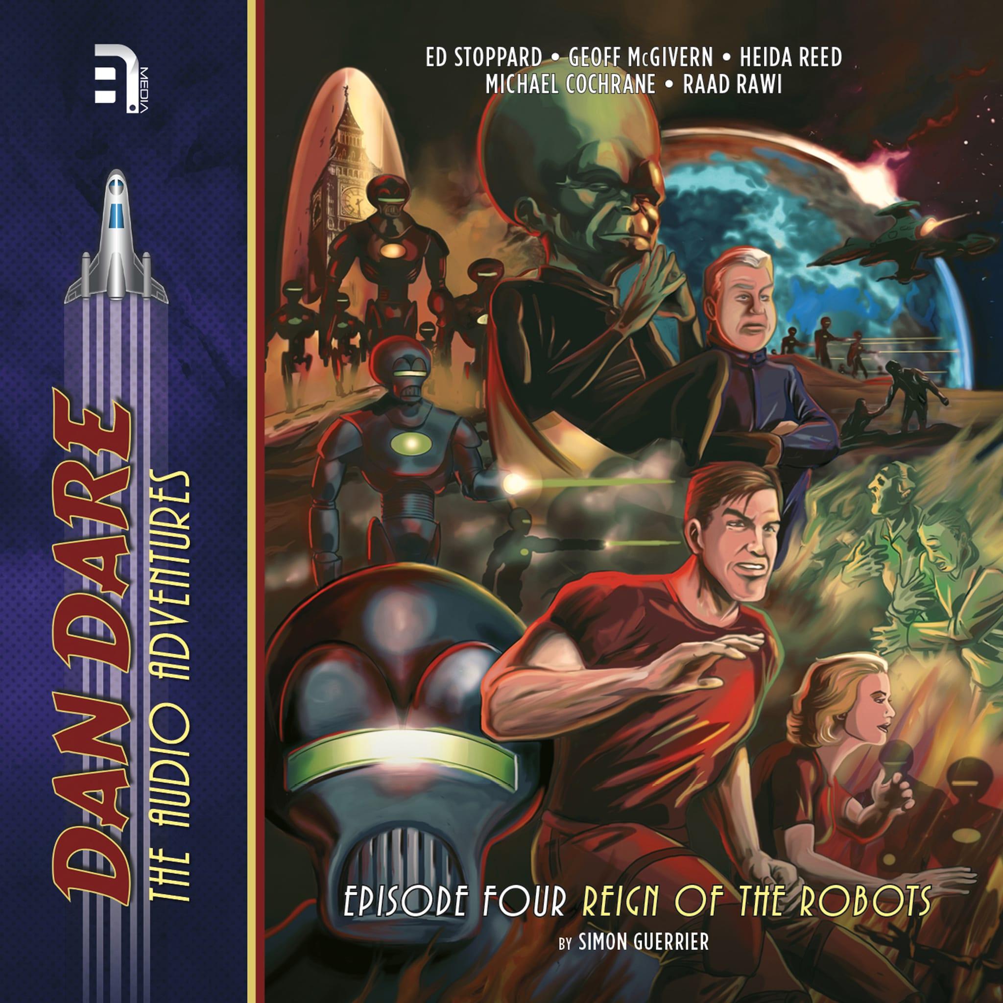 Dan Dare: Voyage to Venus Richard Kurti Äänikirja BookBeat