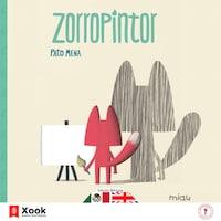Zorro pintor - Fox painter