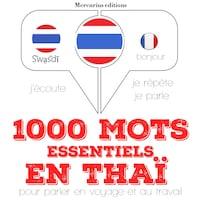1000 mots essentiels en thaï
