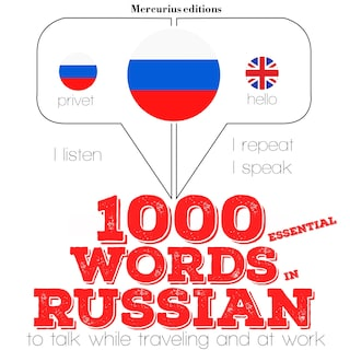 1000 essential words in Russian
