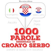 1000 parole essenziali in croato serbo