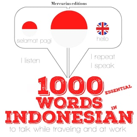 1000 essential words in Indonesian