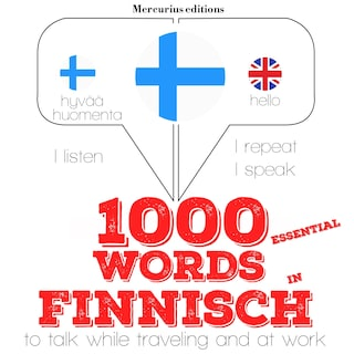 1000 essential words in Finnish