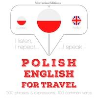 Polski - angielski: W przypadku podróży