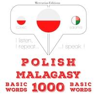 Polski - malgaski: 1000 podstawowych słów