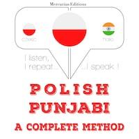 Polski - pendżabski: kompletna metoda