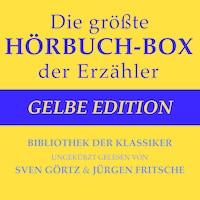 Die größte Hörbuch-Box der Erzähler: Gelbe Edition