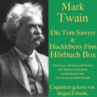Mark Twain: Die Tom Sawyer & Huckleberry Finn Hörbuch Box
