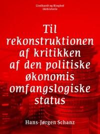 Til rekonstruktionen af kritikken af den politiske økonomis omfangslogiske status