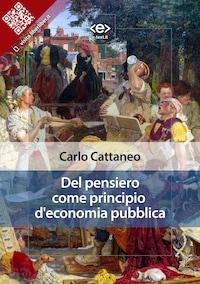 Del pensiero come principio d'economia pubblica
