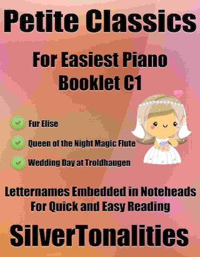 Petite Classics for Easiest Piano Booklet C1