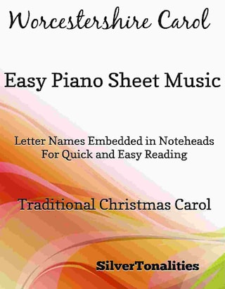 Worcestershire Carol Easy Piano Sheet Music