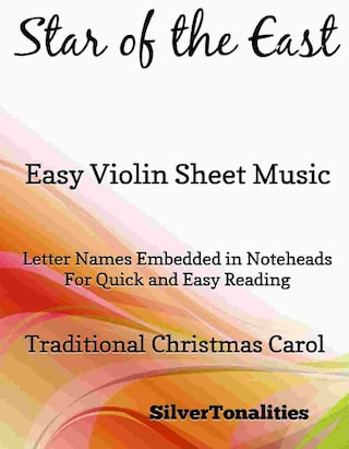 Star of the East Easy Violin Sheet Music