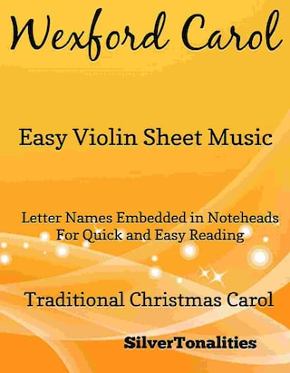 Wexford Carol Easy Violin Sheet Music