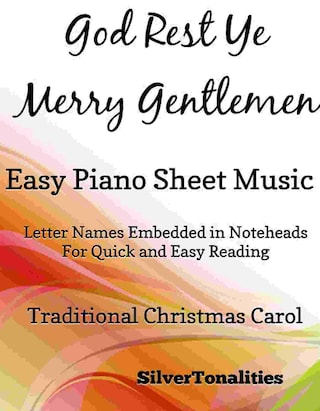 God Rest Ye Merry Gentlemen Easy Piano Sheet Music