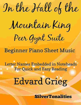In the Hall of the Mountain King Beginner Piano Sheet Music