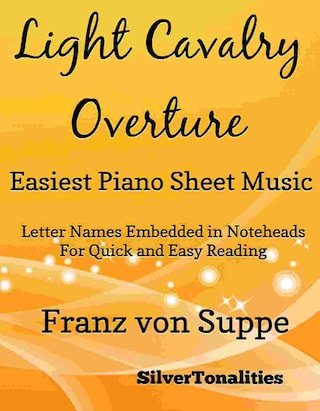 Light Cavalry Overture Easiest Piano Sheet Music