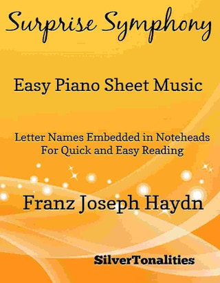 Surprise Symphony Easy Piano Sheet Music