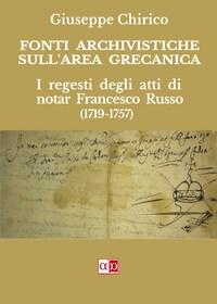 Fonti Archivistiche sull'area grecanica