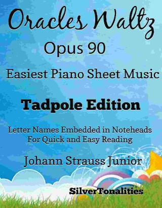 Oracles Waltz Opus 90 Easiest Piano Sheet Music Tadpole Edition