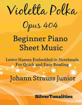 Violetta Polka Opus 404 Beginner Piano Sheet Music