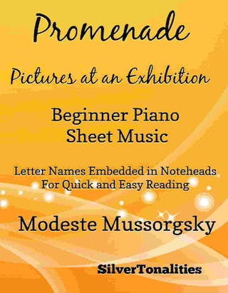 Promenade Pictures at an Exhibition Beginner Piano Sheet Music Tadpole Edition