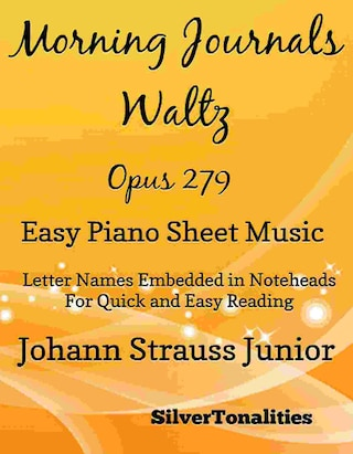 Morning Journals Opus 279 Easy Piano Sheet Music