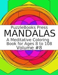 PuzzleBooks Press Mandalas - Volume 8