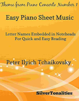 Theme from Piano Concerto Number 1 Easy Piano Sheet Music
