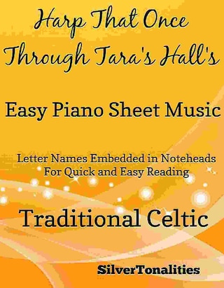 Harp That Once Through Tara's Halls Easy Piano Sheet Music